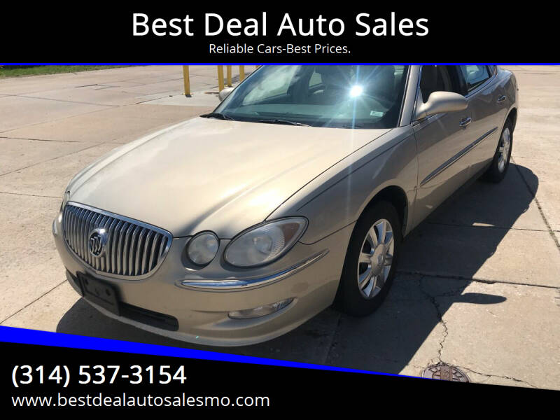 2008 Buick LaCrosse for sale at Best Deal Auto Sales in Saint Charles MO