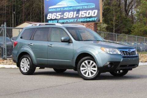 2012 Subaru Forester for sale at Skyline Motors in Louisville TN