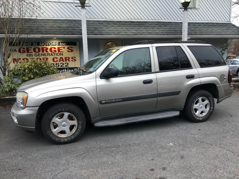 2003 Chevrolet TrailBlazer for sale at 22nd ST Motors in Quakertown PA