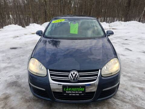2006 Volkswagen Jetta for sale at L & R Motors in Greene ME