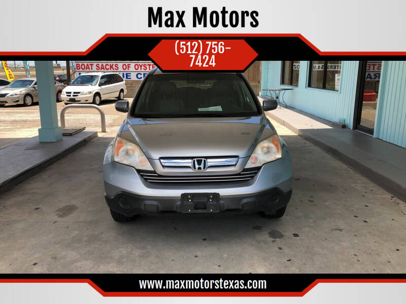 2008 Honda CR-V for sale at Max Motors in Corpus Christi TX