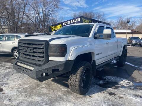 2015 GMC Sierra 2500HD for sale at Chinos Auto Sales in Crystal MN