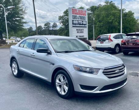 2015 Ford Taurus for sale at Reliable Cars & Trucks LLC in Raleigh NC