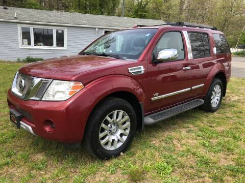 2008 Nissan Pathfinder for sale at Manny's Auto Sales in Winslow NJ