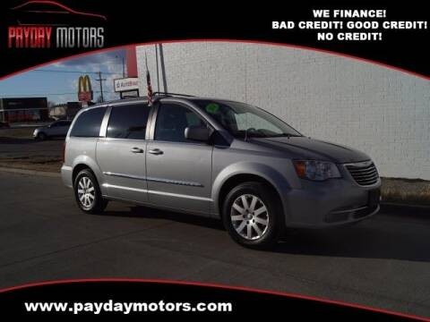 2014 Chrysler Town and Country for sale at Payday Motors in Wichita And Topeka KS