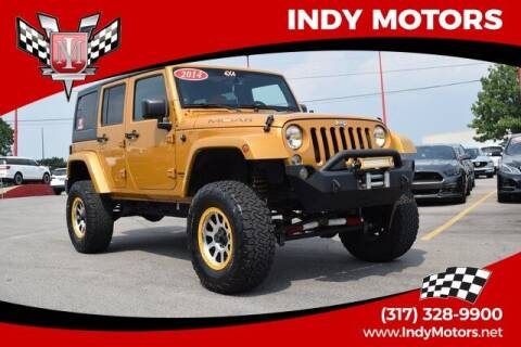 2014 Jeep Wrangler Unlimited for sale at Indy Motors Inc in Indianapolis IN