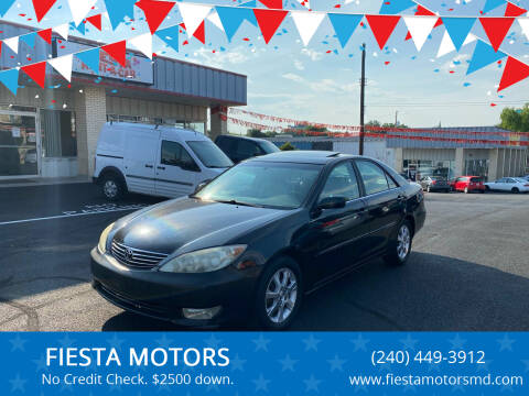 2005 Toyota Camry for sale at FIESTA MOTORS in Hagerstown MD