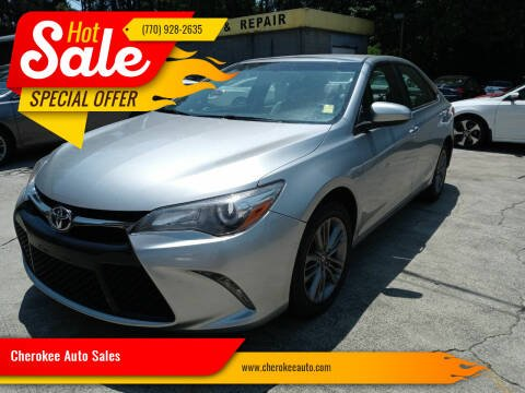 2017 Toyota Camry for sale at Cherokee Auto Sales in Acworth GA