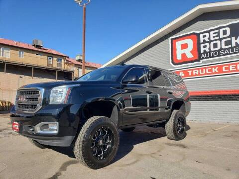 2017 GMC Yukon for sale at Red Rock Auto Sales in Saint George UT