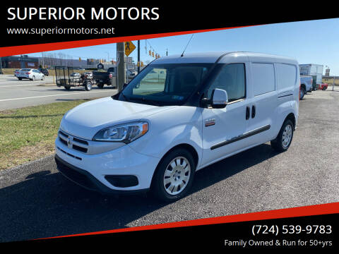 2015 RAM ProMaster City Cargo for sale at SUPERIOR MOTORS in Latrobe PA