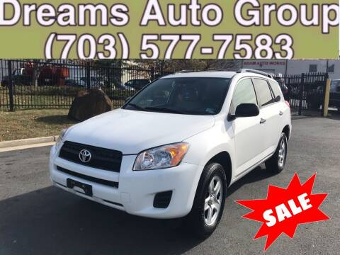 2012 Toyota RAV4 for sale at Dreams Auto Group LLC in Sterling VA