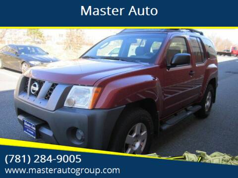 2008 Nissan Xterra for sale at Master Auto in Revere MA