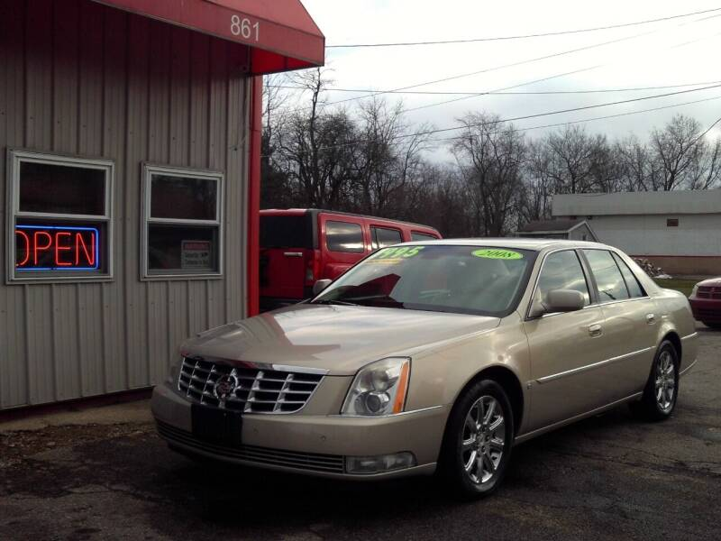 2008 Cadillac DTS for sale at Midwest Auto & Truck 2 LLC in Mansfield OH