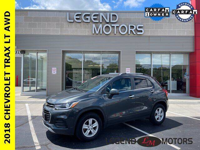 2018 Chevrolet Trax for sale at Legend Motors of Waterford in Waterford MI