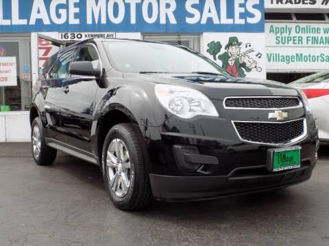 2014 Chevrolet Equinox for sale at Village Motor Sales in Buffalo NY