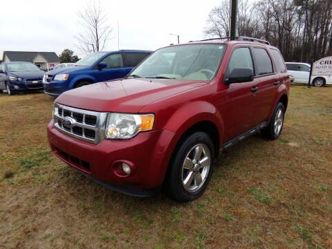 2012 Ford Escape for sale at Creech Auto Sales in Garner NC