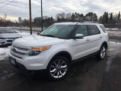 2015 Ford Explorer for sale at Premier Motors LLC in Crystal MN