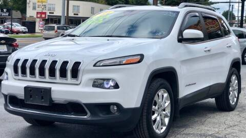 2014 Jeep Cherokee for sale at Apex Knox Auto in Knoxville TN