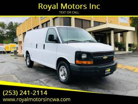 2015 Chevrolet Express Cargo for sale at Royal Motors Inc in Kent WA