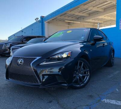2014 Lexus IS 250 for sale at LUGO AUTO GROUP in Sacramento CA