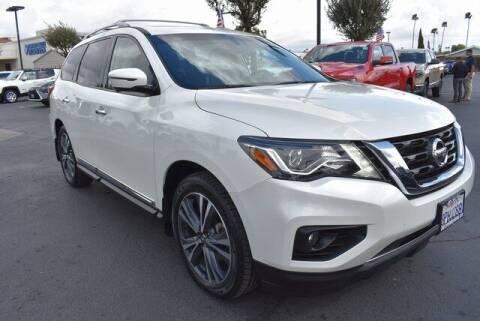 2020 Nissan Pathfinder for sale at DIAMOND VALLEY HONDA in Hemet CA