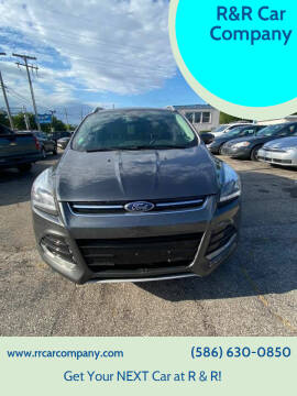 2015 Ford Escape for sale at R&R Car Company in Mount Clemens MI