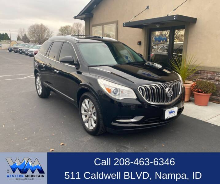 2016 Buick Enclave for sale at Western Mountain Bus & Auto Sales in Nampa ID