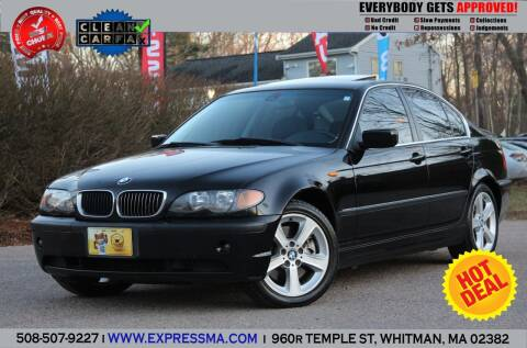 2005 BMW 3 Series for sale at Auto Sales Express in Whitman MA