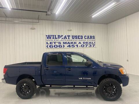 2010 Nissan Titan for sale at Wildcat Used Cars in Somerset KY