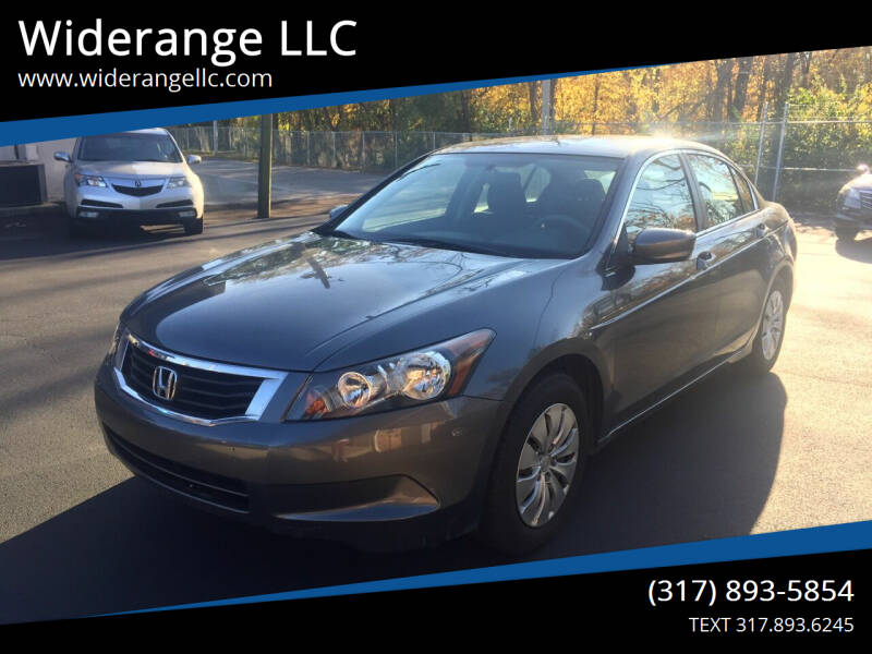 2010 Honda Accord for sale at Widerange LLC in Greenwood IN