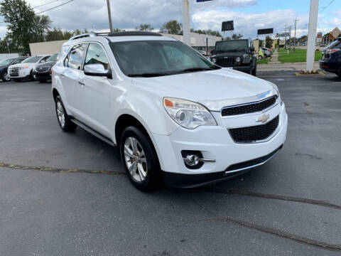 2012 Chevrolet Equinox for sale at Summit Palace Auto in Waterford MI