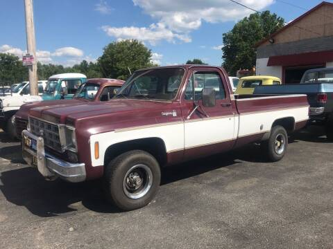 1977 Chevrolet C/K 10 Series for sale at FIREBALL MOTORS LLC in Lowellville OH