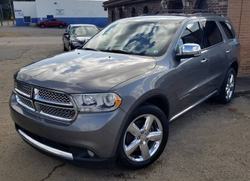 2011 Dodge Durango for sale at SUPERIOR MOTORSPORT INC. in New Castle PA
