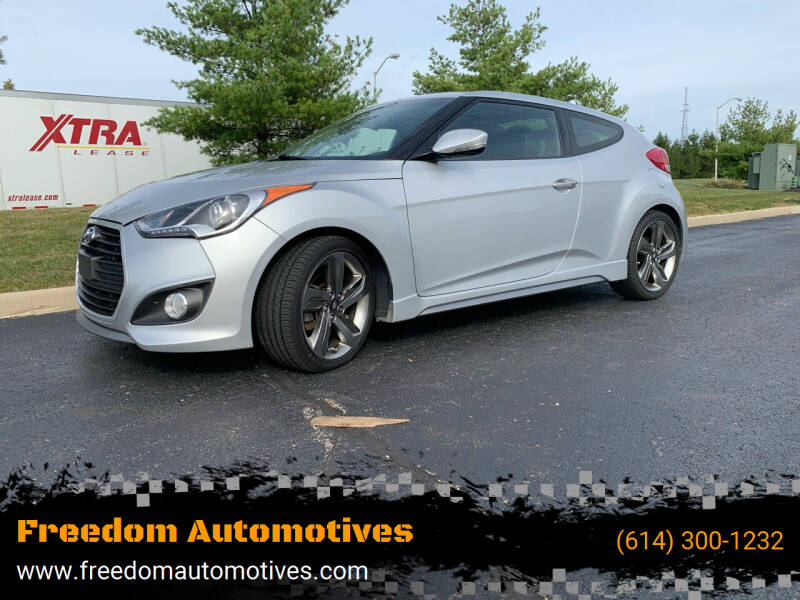 2013 Hyundai Veloster for sale at Freedom Automotives in Grove City OH