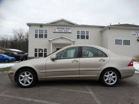 2004 Mercedes-Benz C-Class for sale at SOUTHERN SELECT AUTO SALES in Medina OH