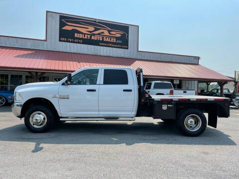 2017 RAM Ram Pickup 3500 for sale at Ridley Auto Sales, Inc. in White Pine TN