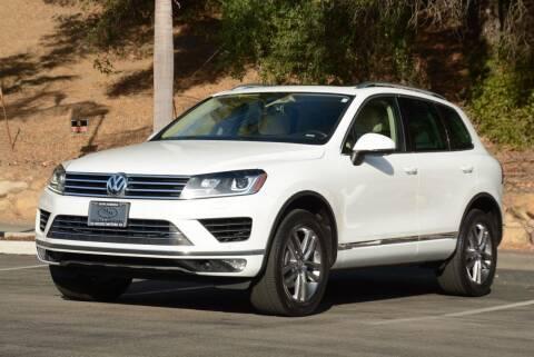 2016 Volkswagen Touareg for sale at Milpas Motors in Santa Barbara CA
