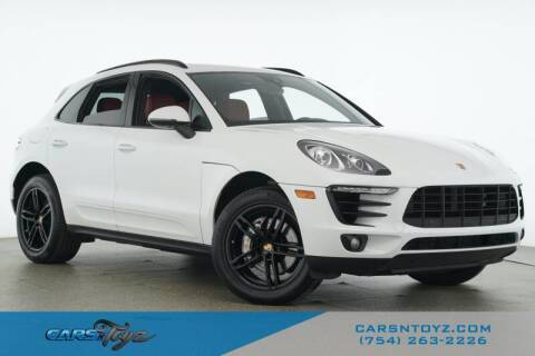 2017 Porsche Macan for sale at JumboAutoGroup.com - Carsntoyz.com in Hollywood FL