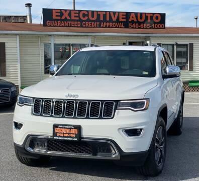 2019 Jeep Grand Cherokee for sale at Executive Auto in Winchester VA