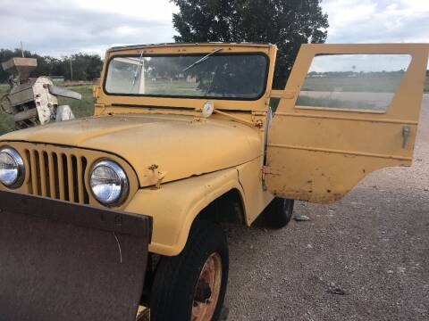 1967 Jeep CJ-5 for sale at CLASSIC MOTOR SPORTS in Winters TX