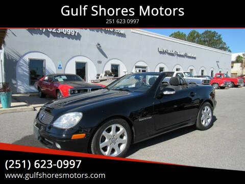 2001 Mercedes-Benz SLK for sale at Gulf Shores Motors in Gulf Shores AL
