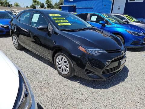 2018 Toyota Corolla for sale at La Playita Auto Sales Tulare in Tulare CA