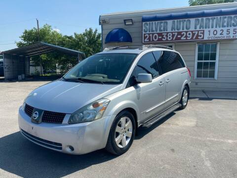 2004 Nissan Quest for sale at Silver Auto Partners in San Antonio TX