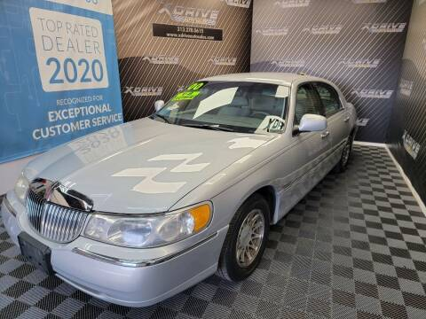 2000 Lincoln Town Car for sale at X Drive Auto Sales Inc. in Dearborn Heights MI