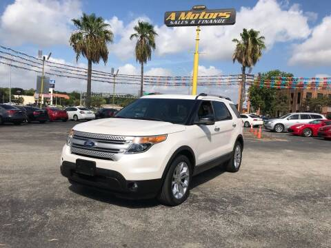 2012 Ford Explorer for sale at A MOTORS SALES AND FINANCE - 5630 San Pedro Ave in San Antonio TX