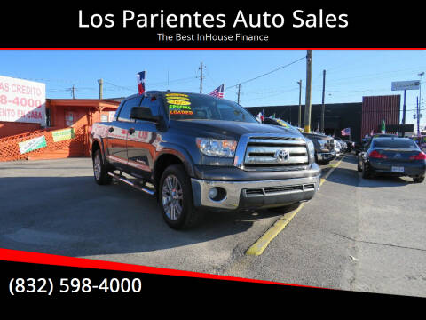 2013 Toyota Tundra for sale at Los Parientes Auto Sales in Houston TX