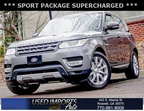 2014 Land Rover Range Rover Sport for sale at Used Imports Auto in Roswell GA