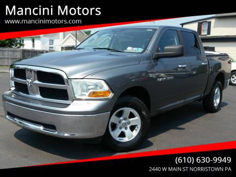 2011 RAM Ram Pickup 1500 for sale at Mancini Motors in Norristown PA