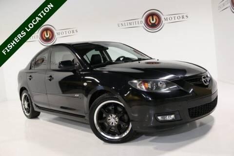 2008 Mazda MAZDA3 for sale at Unlimited Motors in Fishers IN