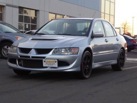 2003 Mitsubishi Lancer Evolution for sale at Loudoun Motor Cars in Chantilly VA